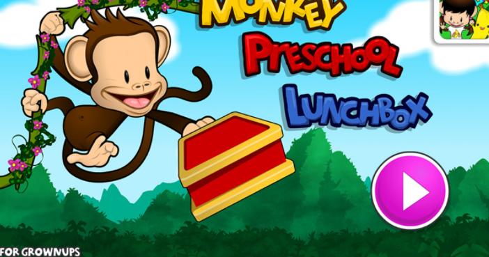 Monkey Preschool Lunchbox interactive app for kids