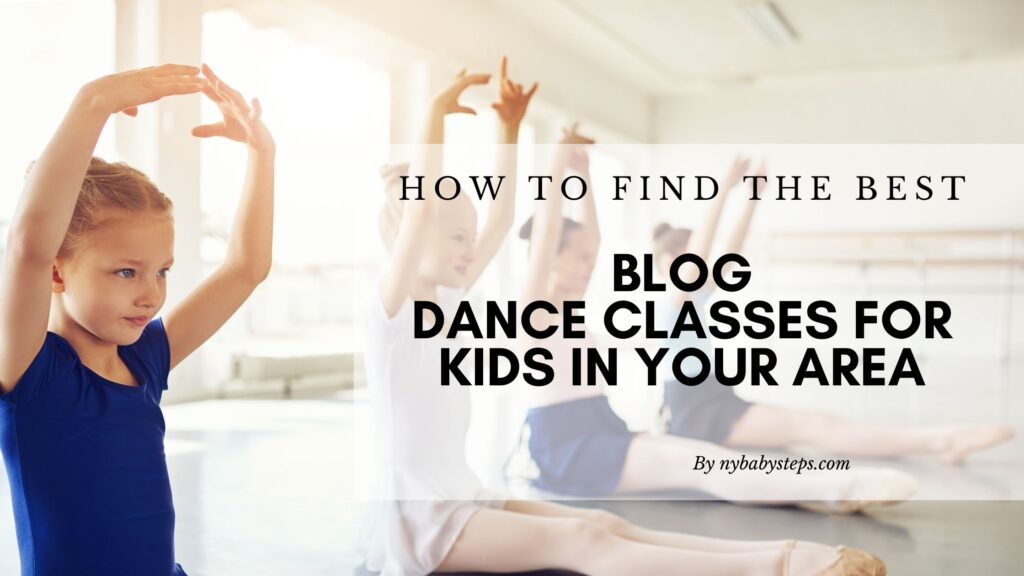 Dance Classes For Kids In Your Area Featured Graphic