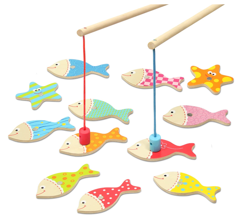 Kidzlane Magnetic Fishing Game