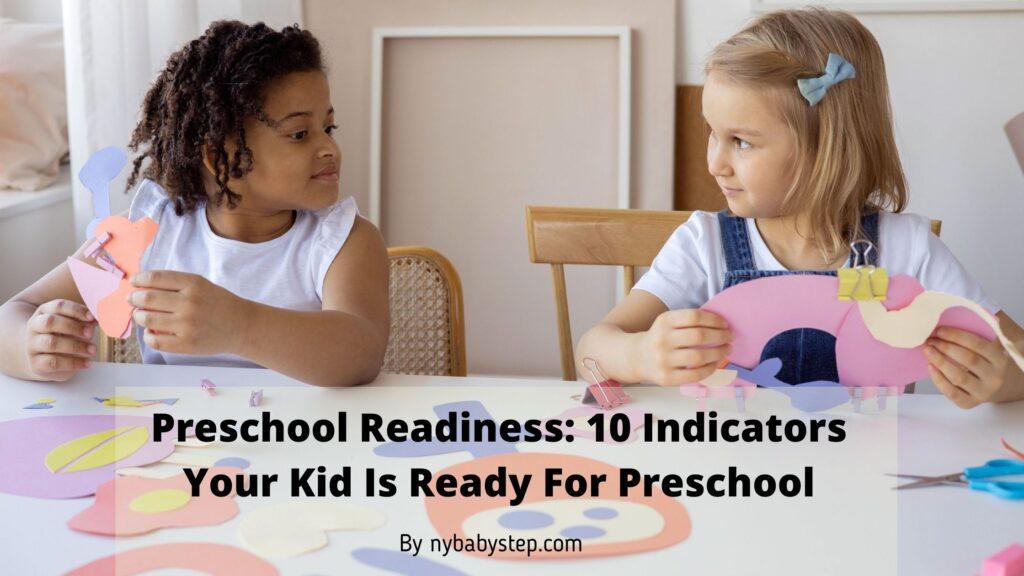 preschool readiness