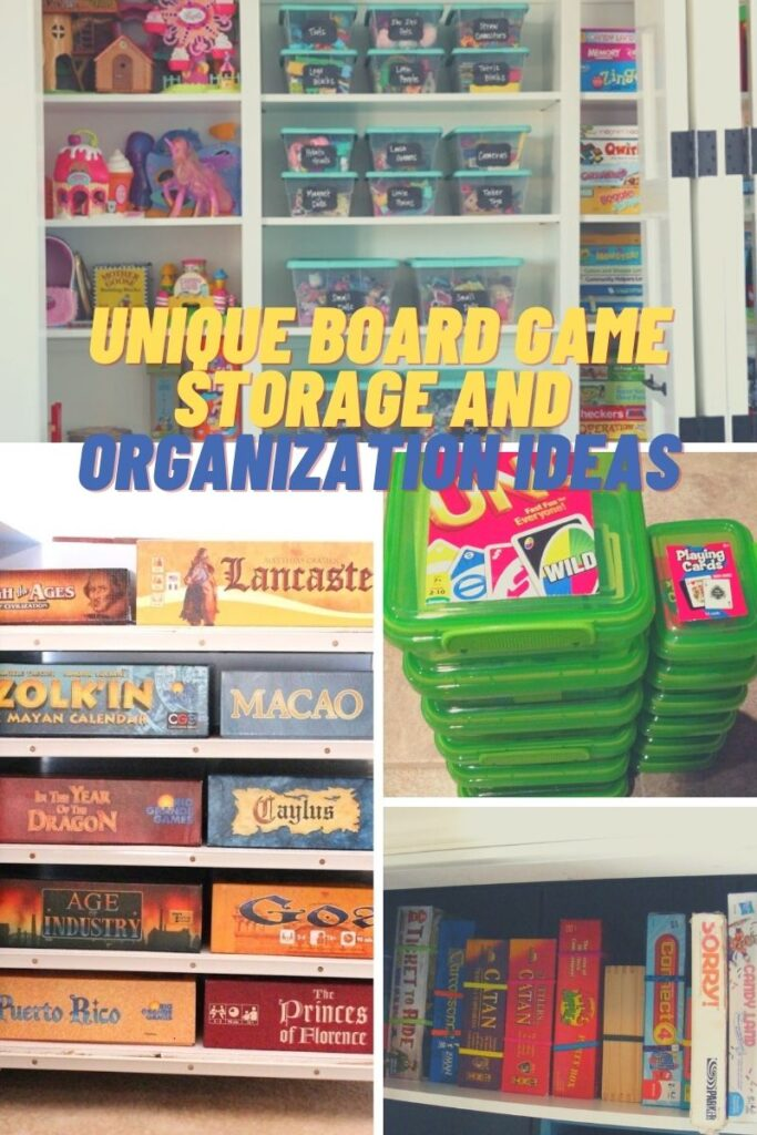 Board Game Storage Ideas